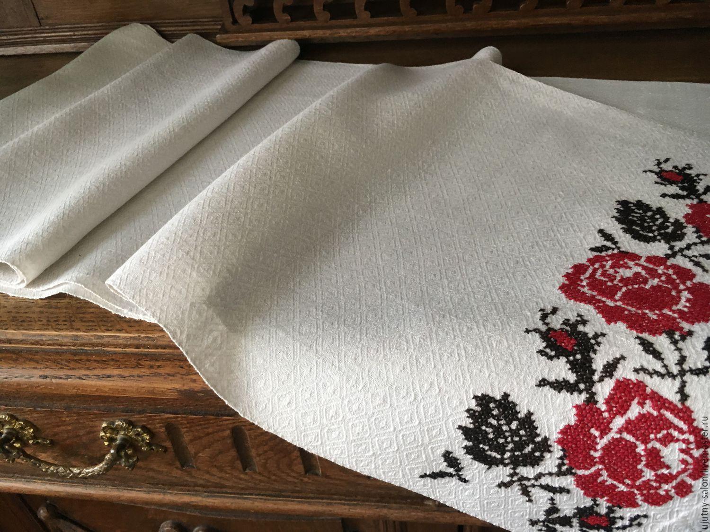 Фото полотенце с вышивкой 24