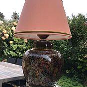 Винтаж handmade. Livemaster - original item Cloisonne table lamp, Handmade, China. Handmade.