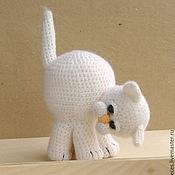 Куклы и игрушки ручной работы. Ярмарка Мастеров - ручная работа Любознательный котенок. Handmade.