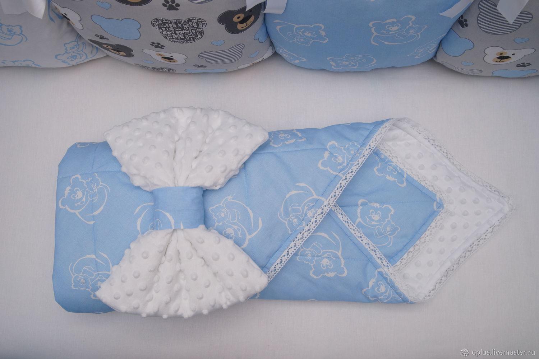 Одеяло-конверт на выписку, Конверты на выписку, Брянск,  Фото №1