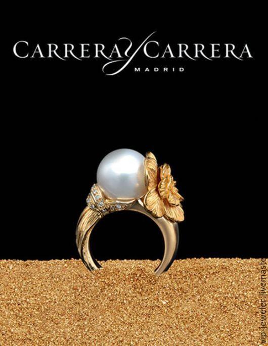 Кольца ручной работы. Ярмарка Мастеров - ручная работа. Купить Серьги, кольцо, кулон - Carrera y Carrera. Handmade. Золотой