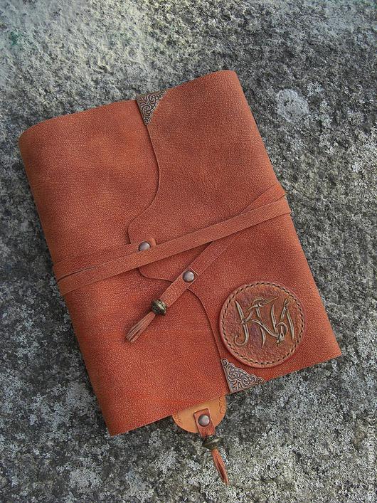 Блокноты ручной работы. Ярмарка Мастеров - ручная работа. Купить Блокнот кожаный А5 на кольцах Копи Царя Соломона. Handmade.