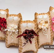 Подарки к праздникам ручной работы. Ярмарка Мастеров - ручная работа Кофейные Чумачечи. Handmade.