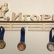 Сувениры и подарки handmade. Livemaster - original item Medal holder for football Player. Handmade.