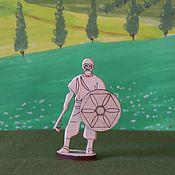 Материалы для творчества handmade. Livemaster - original item Figure for painting: Viking. Handmade.