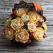 """Букеты ручной работы. Ярмарка Мастеров - ручная работа Букет из конфет """"Ракушка"""". Handmade."""