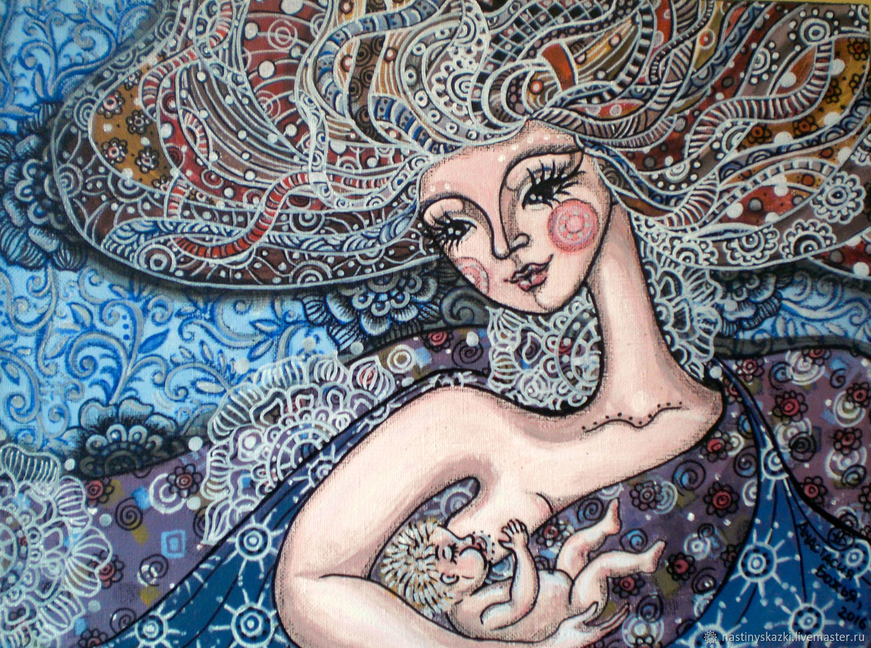 Картинки по запросу материнство и ребенок арт