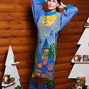 """Одежда ручной работы. Ярмарка Мастеров - ручная работа Платье в стиле бохо""""Солнечное"""". Handmade."""