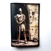 Сумки и аксессуары handmade. Livemaster - original item Passport cover Knight Gift for a man. Handmade.