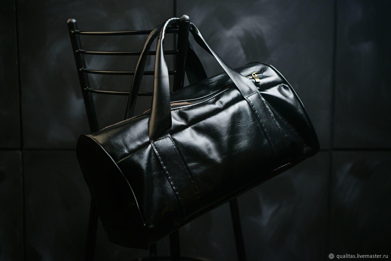 Travel leather bag,men's casual carry bag, Men\'s bag, Rostov-on-Don,  Фото №1