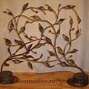 Для дома и интерьера ручной работы. Ярмарка Мастеров - ручная работа Решетка для камина кованая. Handmade.