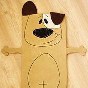 Работы для детей, ручной работы. Ярмарка Мастеров - ручная работа Матрасик Собака Джек Рассел в прогулочную коляску. Handmade.