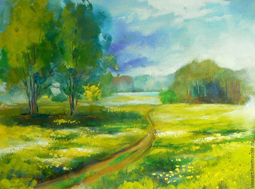 Пейзаж природы картинки лето