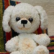 Подарки к праздникам ручной работы. Ярмарка Мастеров - ручная работа Белая собачка - нежная Ниночка. Handmade.