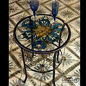 Витражи ручной работы. Ярмарка Мастеров - ручная работа Витражи: столешница в стиле ,, витраж,,. Handmade.
