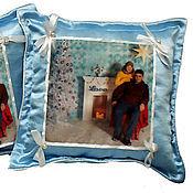 Для дома и интерьера ручной работы. Ярмарка Мастеров - ручная работа Подушка с Вашим Фото. Handmade.