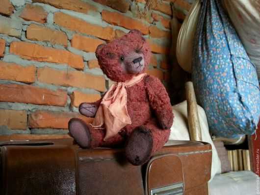 Мишки Тедди ручной работы. Ярмарка Мастеров - ручная работа. Купить медведь-тедди Кристоф, автор Марина Ачмиз. Handmade.
