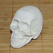 Формы ручной работы. Ярмарка Мастеров - ручная работа Силиконовая форма для мыла Череп 3D. Handmade.