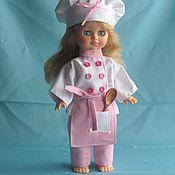 Куклы и игрушки ручной работы. Ярмарка Мастеров - ручная работа Костюм поваренка на куклу. Handmade.