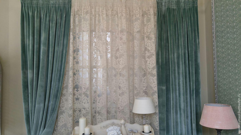 Плюшевые шторы