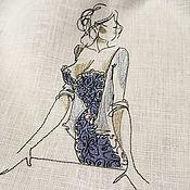 Мешочки ручной работы. Ярмарка Мастеров - ручная работа Льняной мешочек для белья. Handmade.