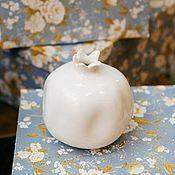 Для дома и интерьера handmade. Livemaster - original item Decorative porcelain garnet. Handmade.