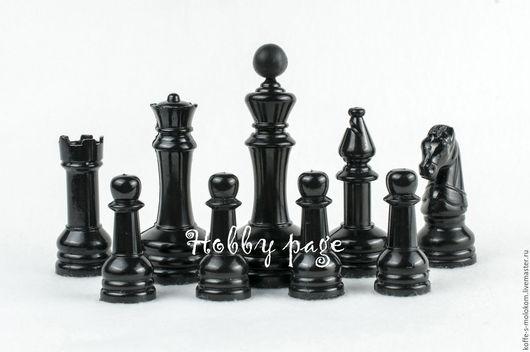 Материалы для косметики ручной работы. Ярмарка Мастеров - ручная работа. Купить Силиконовая форма для мыла Шахматы. Handmade. Форма для мыла