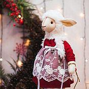 Куклы и игрушки ручной работы. Ярмарка Мастеров - ручная работа овечка Berta. Handmade.