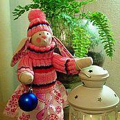 Куклы и игрушки ручной работы. Ярмарка Мастеров - ручная работа Зайка - Сердечко. Handmade.