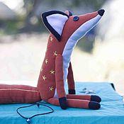 """Мягкие игрушки ручной работы. Ярмарка Мастеров - ручная работа Лис из мульта """"Маленький принц"""". Handmade."""