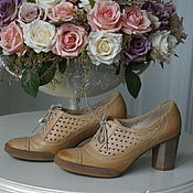Винтаж ручной работы. Ярмарка Мастеров - ручная работа Ботильоны, туфли Ann - Mex, размер 37. Handmade.