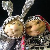 """Куклы и игрушки ручной работы. Ярмарка Мастеров - ручная работа """" кто- то с длинными ушами)))"""". Handmade."""