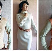 Одежда ручной работы. Ярмарка Мастеров - ручная работа платье  нарядное жемчужное. Handmade.
