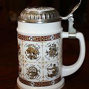 Винтаж handmade. Livemaster - original item Collectible beer mugs,