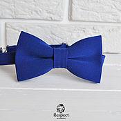 Аксессуары handmade. Livemaster - original item Tie the electrician bright blue tie groomsmen. Handmade.