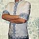 Льняная сорочка с ручной вышивкой Модна-Народна. Творческое ателье Modne-Narodne. Модная одежда с ручной вышивкой.
