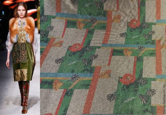 Шитье ручной работы. Ярмарка Мастеров - ручная работа. Купить Ткань  VALENTINO. Handmade. Ткань, итальянские ткани, пальтовая