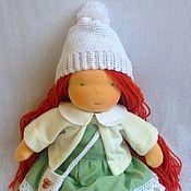 Вальдорфские куклы и звери ручной работы. Ярмарка Мастеров - ручная работа Вальдорфская кукла Лизонька, 34 см. Handmade.
