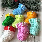 Косметика ручной работы handmade. Livemaster - original item Soap Socks knitted. Handmade.