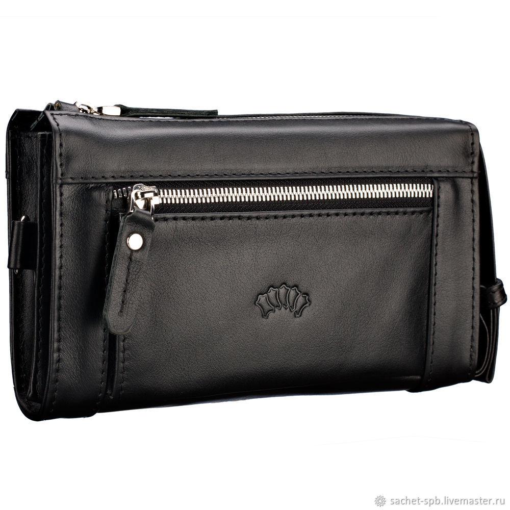 ba4e8ba8bbc7 Мужские сумки ручной работы. Ярмарка Мастеров - ручная работа. Купить  Кожаный клатч