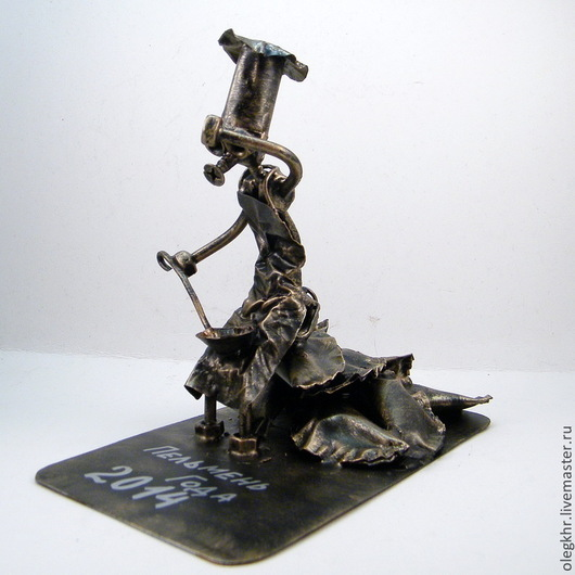 Миниатюрные модели ручной работы. Ярмарка Мастеров - ручная работа. Купить Повар- пельменный маг. Handmade. Скульптурная миниатюра