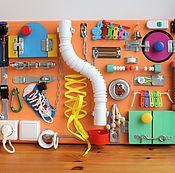 Куклы и игрушки ручной работы. Ярмарка Мастеров - ручная работа Бизиборд №6. Handmade.