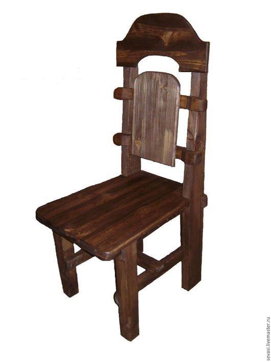 Мебель ручной работы. Ярмарка Мастеров - ручная работа. Купить Стул под старину. Handmade. Коричневый, состаренное дерево