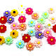 Кабошон акриловый Цветы, цвет микс, размер 13мм,  цена за 1 шт.  руб.6.00 Артикул: 12-09