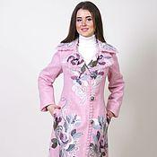 Одежда ручной работы. Ярмарка Мастеров - ручная работа Розовое пальто Напоминание о весне. Handmade.