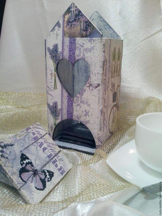 чайный домик `Лавандовые мотивы`