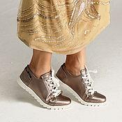 Обувь ручной работы. Ярмарка Мастеров - ручная работа Кеды 12-65-s48 (СБ). Handmade.