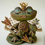 """Куклы и игрушки ручной работы. Ярмарка Мастеров - ручная работа Елочная игрушка """"Царевна лягушка"""". Handmade."""