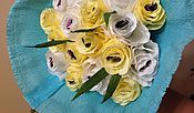 Цветы и флористика ручной работы. Ярмарка Мастеров - ручная работа Букет с конфетами марсианка. Handmade.