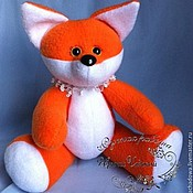 Куклы и игрушки ручной работы. Ярмарка Мастеров - ручная работа Мягкая игрушка Рыжий Лис. Handmade.